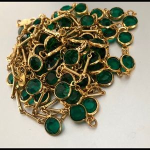 Jewelry - Two green Austrian Crystal necklaces